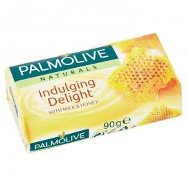 Palmolive Naturals Indulging Delight tuhé mydlo mléko a med 90 g