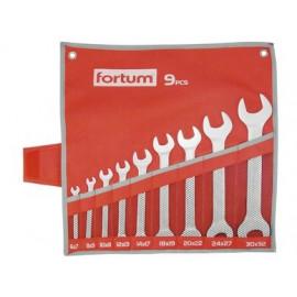 Vidlicové kľúče 6-32mm 9-dielna sada FORTUM 4730101