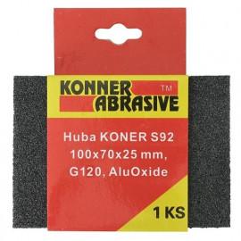 Huba KONER S92 100x70x25 mm, G120, AluOxide