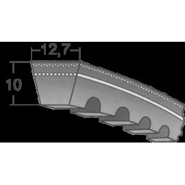 Klinový remeň XPA 1257 Lw/1275 La MAXBELT SLOVAKIA
