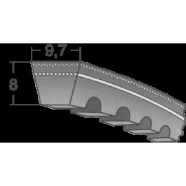 Klinový remeň XPZ 1137 Lw/1150 La MAXBELT SLOVAKIA