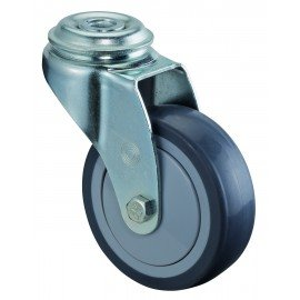 Prístrojové koliesko 75x25 mm otočná kladka