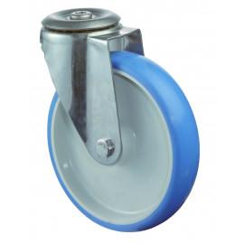 Nerezové transportné koliesko 80x28 mm otočná kladka