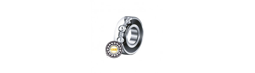Jednoradové guľkové ložiská kryté plechom štandardnej kvality