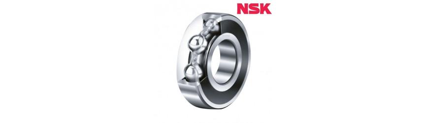 Jednoradové guľkové ložiská kryté plastom NSK